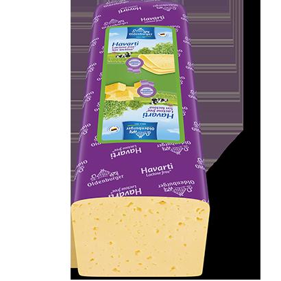 Havarti, lactose free*, 3 kg