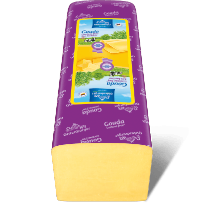 Gouda, lactose free*, 3 kg