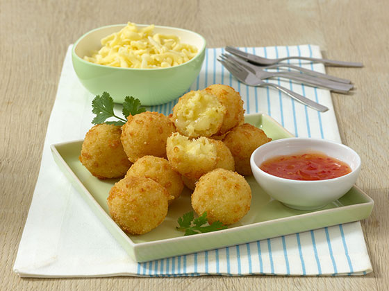Fried Riceballs