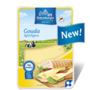 Gouda light 30% fat i.d.m. slices