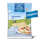 Oldenburger Mozzarella 40% M.G/E.S., rallado, 2kg