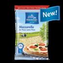 Oldenburger Mozzarella Grated 40% fat i.d.m., 200g