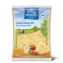 Oldenburger Grated Cheese, 45% fat i.d.m., 2kg